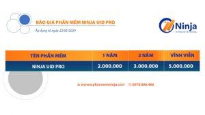 bảng giá ninja uid pro