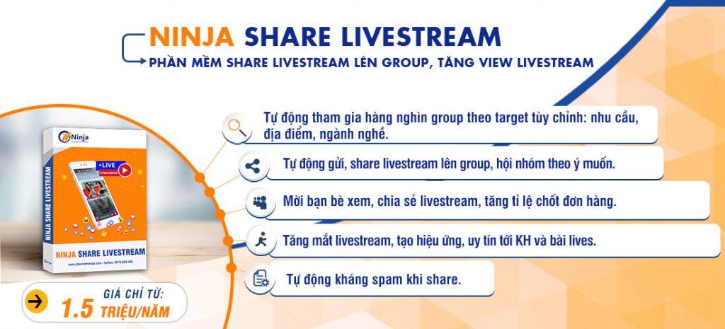 Phần mềm chia sẻ livestream nhanh chóng
