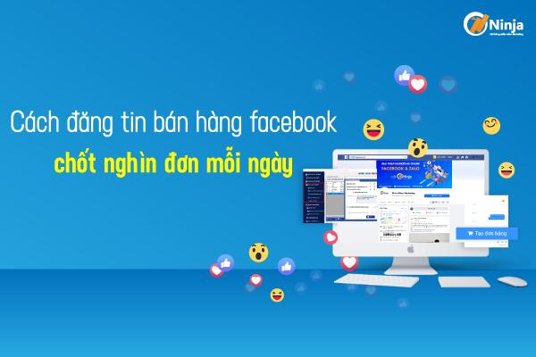 cách đăng tin bán hàng facebook