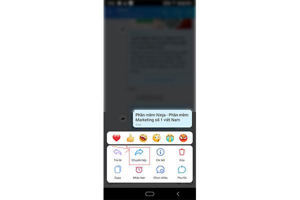 cách gửi tin nhắn zalo hàng loạt hiệu quả